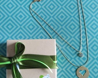 Necklace my perfect complement. Handmade. Love. Gold plated bronce necklace. Mother & Daughter Christmas Gift for her. Necklaces