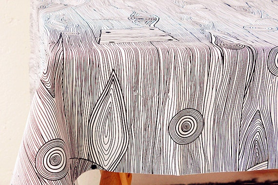 Retro Wood Grain Linen Cotton Fabric Retro Tree Bark Fabric Etsy
