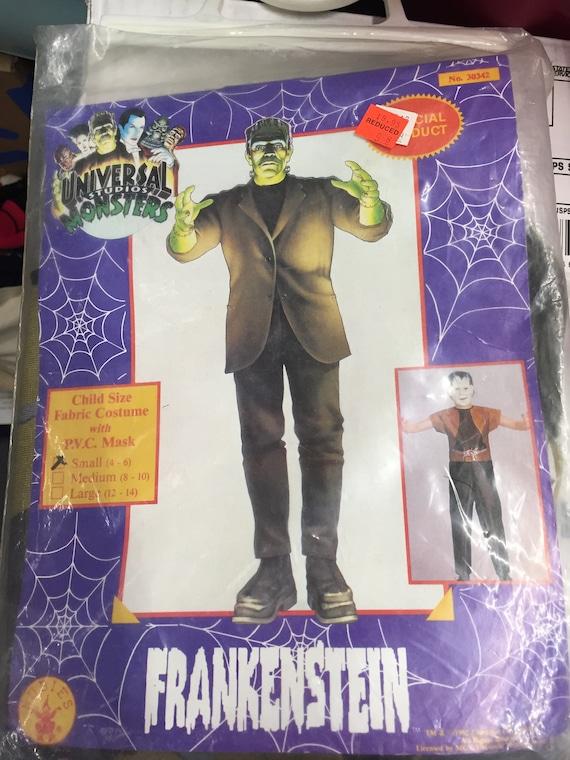 Universal Monsters Frankenstein Halloween Mask Costume Etsy