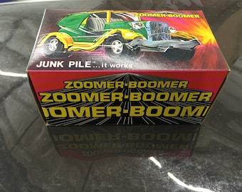 Topper zoomer boomer tin litho junk pile jalopy car nib