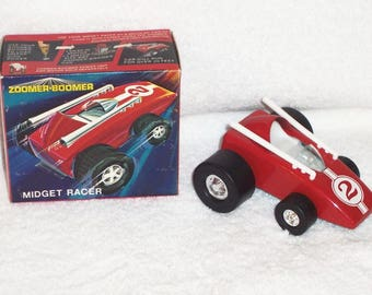Topper zoomer boomer collection 4 cars nos MIB old store stock