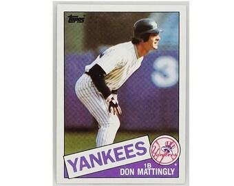 Donnie Baseball Etsy