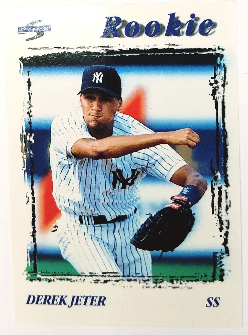 Derek Jeter Rookie Card 1995 Score 240 Rookie Young Jeter Yankee Phenom Rc