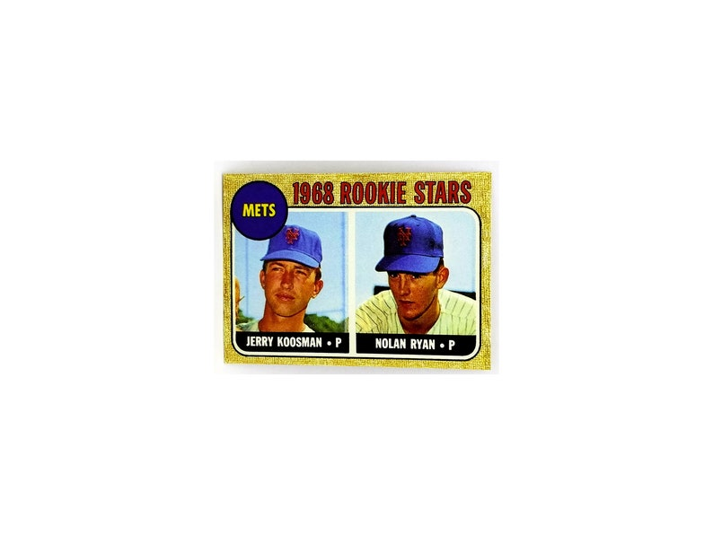 Sale Ends Soon 1968 Topps Nolan Ryan Rookie Card 177 Mets Rc Read