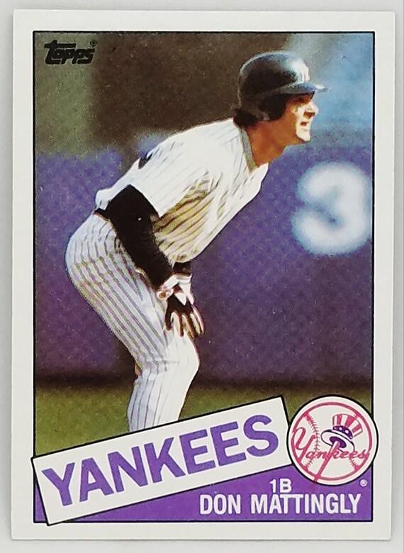 2018 Topps Archives Baseball #23 Don Mattingly New York Yankees 1959 Topps Design