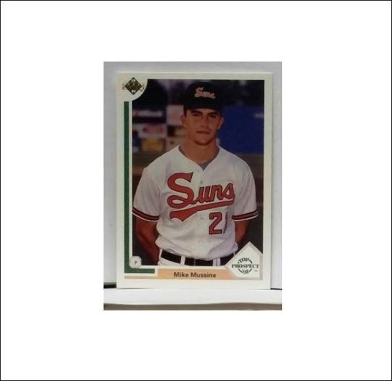 1991 Upper Deck 65 Mike Mussina Rookie Card Orioles Yankees Pitcher