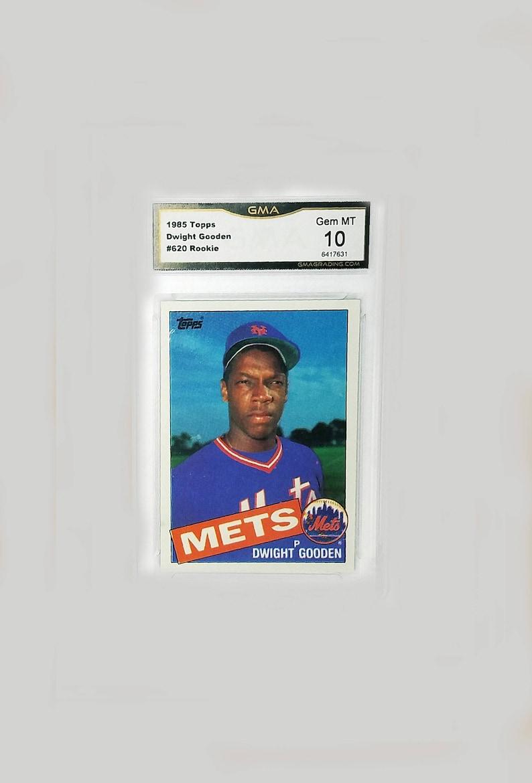 Verzamelkaarten, ruilkaarten Honkbal DWIGHT GOODEN 1985 Topps #620 Rookie Baseball Card NM Condition NEW YORK METS