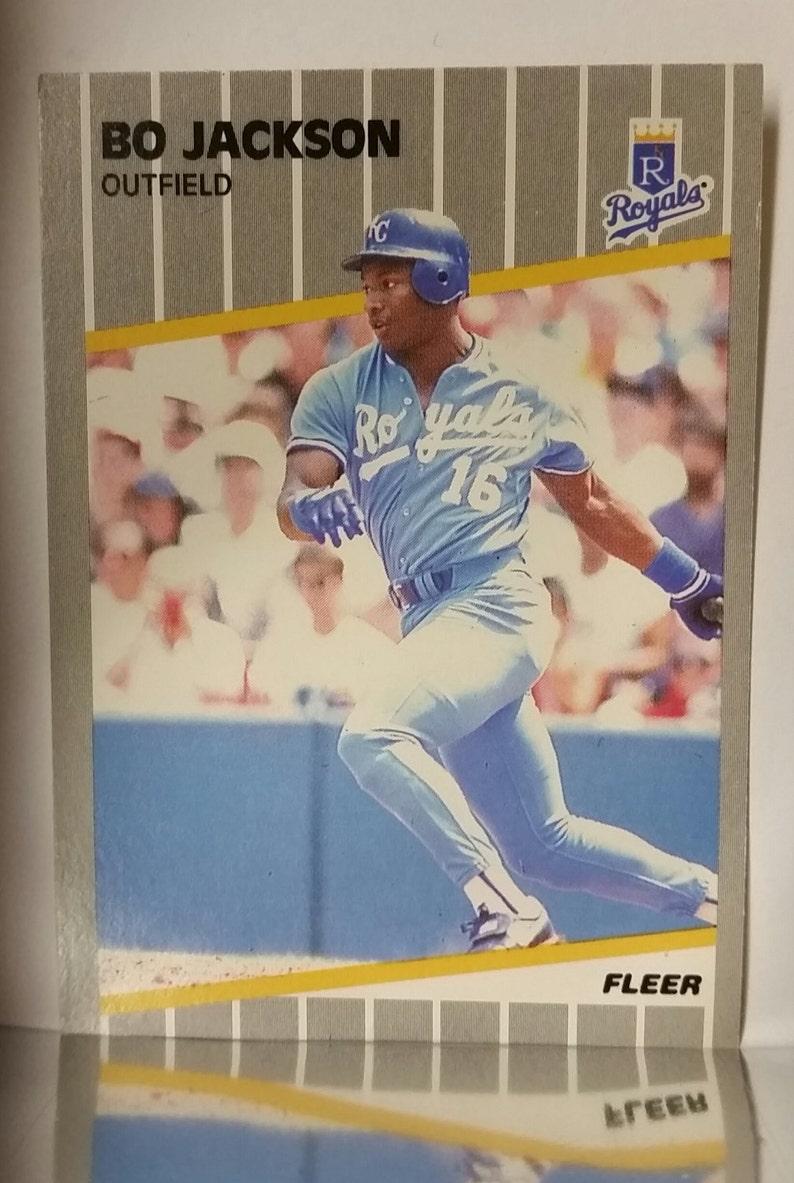 Kansas City Royals 1989 Fleer # 285 Bo Jackson NM-MT+