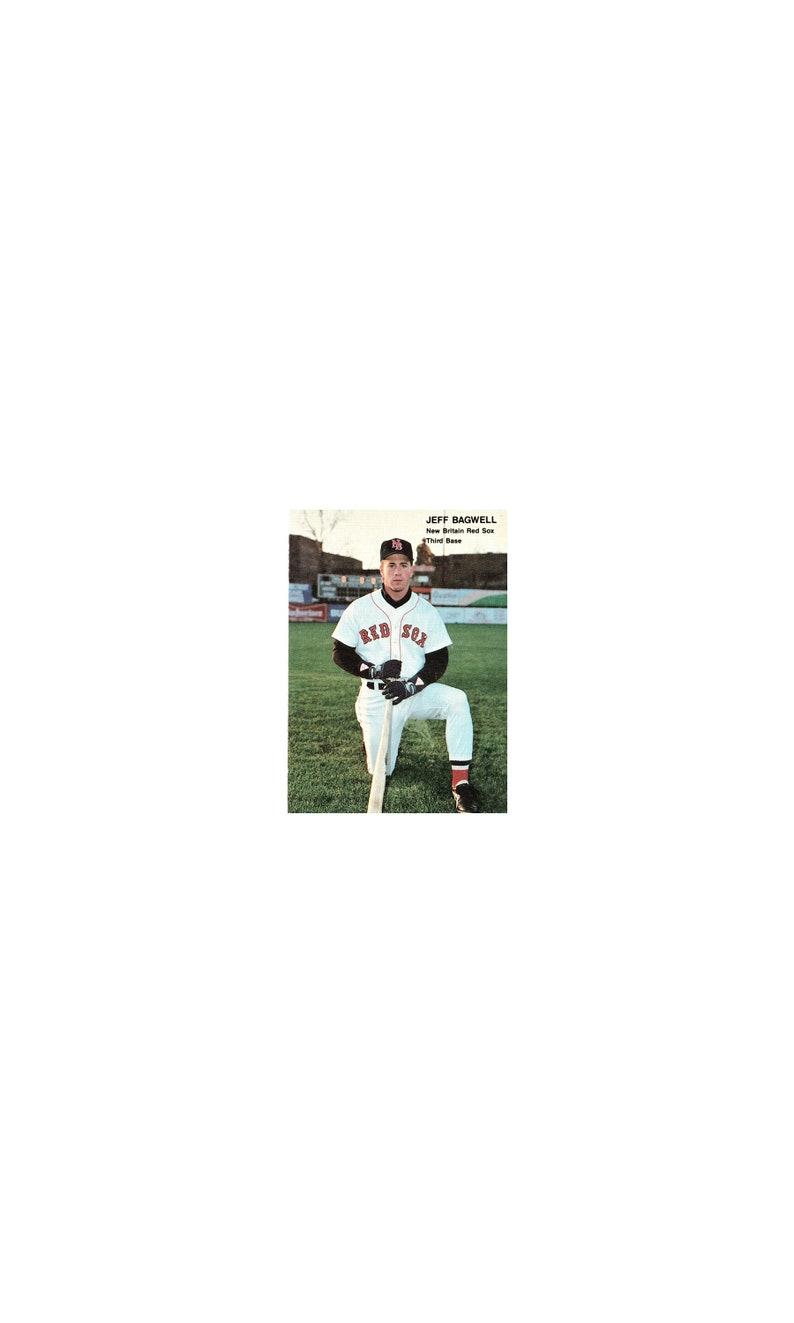 Jeff Bagwell Rookie 1990 Best Minor League Rookie Card 132 New Britain Hof Houston Astros Slugger 449 Home Runs Original Not A Reprint