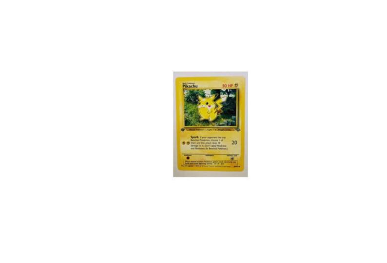 60//64 Pokemon Card. Pikachu Jungle EX