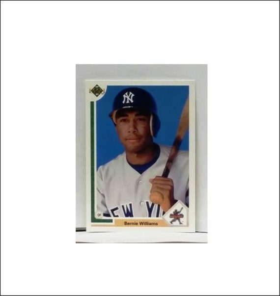 1991 Upper Deck 11 Bernie Williams Rookie Card Yankee
