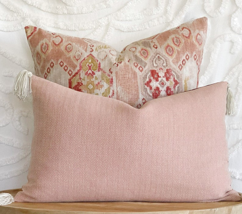 Pink pillow cover One cushion cover