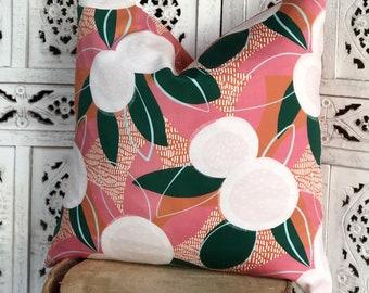 As seen on @kb_loves Pink Terracotta Hakea Cushion 50cm