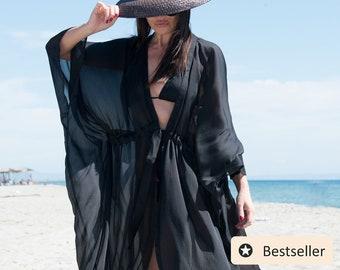 Beach dress cover up / Swim cover up / Beachwear / Ropa de Playa - KA0602CH