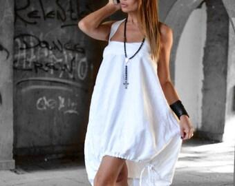 8540230138f White linen dress