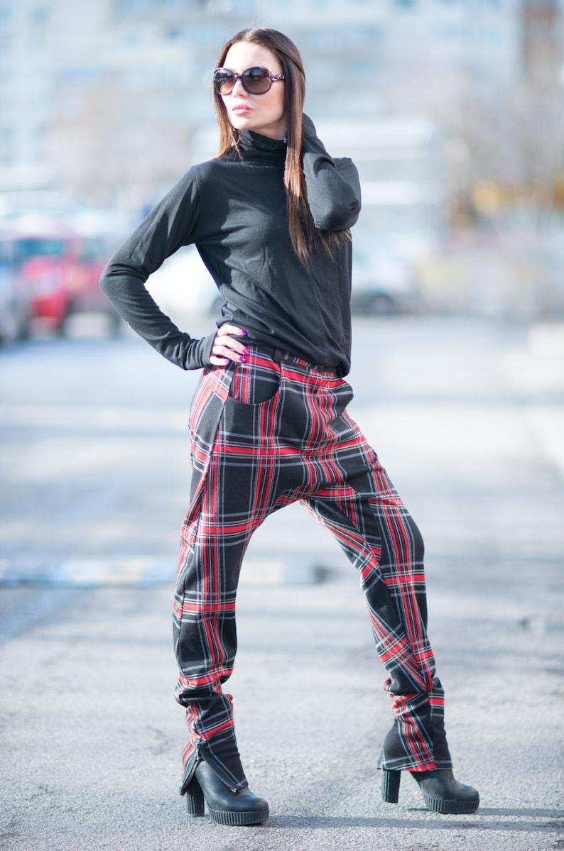 334eaa090e1711 Clothing Drop Crotch Pants Harem Pants for Women Women | Etsy