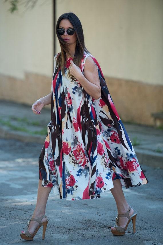 Loose Dress DR0191CT Maxi Dress Dress Evening Plus Womens Size Dress Dress Summer Cotton Cotton Dress Dress Party Sleeveless 4TUwqY