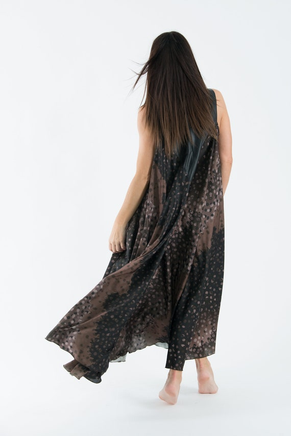 Brown Dress Long Dress Dress Summer Silk Party Satin Dress Wedding Dress Size Maxi Dress Maxi Clothing DR0170CH Plus Summer EpqHHv