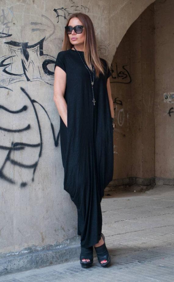 Dress Extravagant DR0288TR Top Dress Sleeve Full Extra Asymmetric Plus Casual Kaftan Long Maxi Tunic Short Cotton Length Dress Size wxUOqv