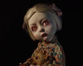SOLD. Balljointed dolls.bjd doll. exclusive doll.handmade articulated doll.OOAK BJD Doll.Dawn doll.