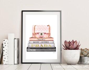 Rose gold bedroom decor | Etsy