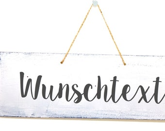 Wood Sign with personalization in different colors available