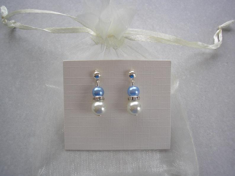 bridal bracelet earrings jewelry Pearl /& Diamante Bracelet and Stud Earrings Jewelry Set for Women Girls Brides Bridesmaids Wedding Ladies