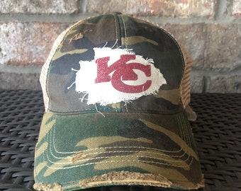 68658f9e Kansas city hat | Etsy