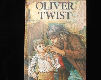First Edition | Oliver Twist | Ladybird Book | Children's Classics | Vintage Gloss Hardback | Retold by B R Lewis | 1984