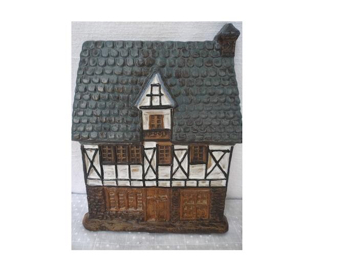 Ceramic Tile, House Tile, House Form, Folk Tile, Craft Tile