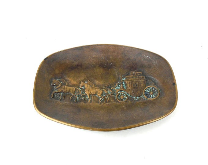 Bronze Ashtray, Brass Rustic Ashtray, Brass Dish, Bronze Plaque, Antique Brass, gg noell & co würzburg bronze plaque