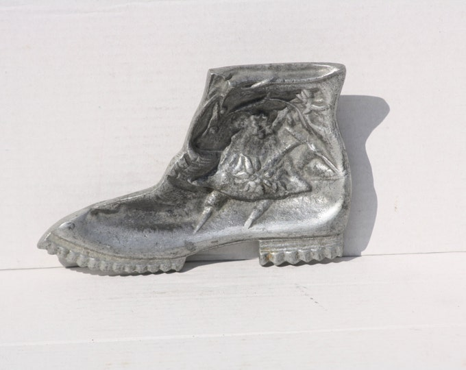 Metal Ashtray, Aluminium Ashtray, Boot Ashtray, Relief Ashtray, Metal Boot