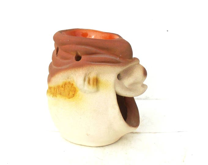 Candle Holder, Happy Man Candle Holder, Head Candle Holder