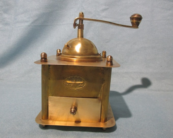 Coffee Grinder, Brass Coffee Grinder, Brass Pepper Mill Grinder