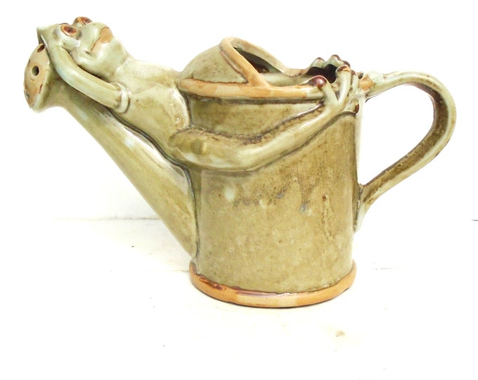 Ceramic Water Can, Figural Water Can, Water Kettle
