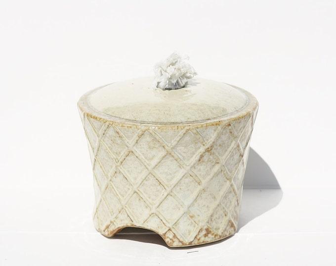 Ceramic Oil Lamp, Stoneware Ceramic Pottery, Oil Lamp, Petroleum Lamp
