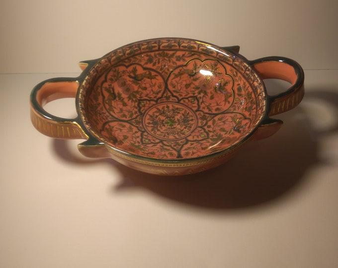 Zsolnay Bowl, Zsolnay Art Nouveau Pot, Secession Pot, Secession Zsolnay