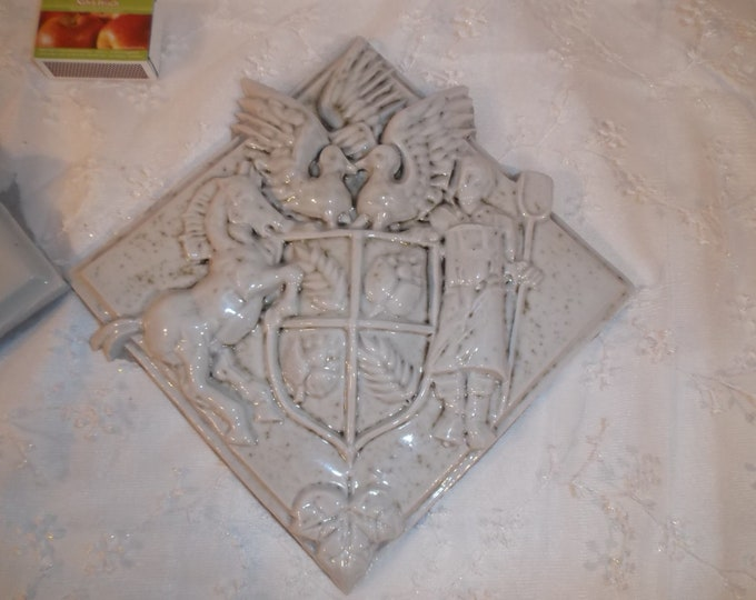 White Tiles, Relief Tiles, Coat of Arms