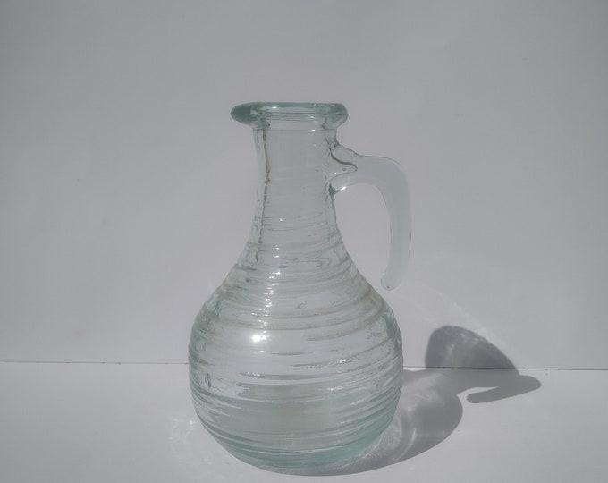 Glass Decanter, Pouring Vinegar, Oil Vinegar, Vinegar Decanter, Ceramic Decanter