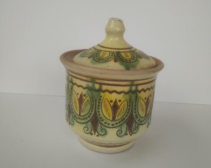 Hutsul Ceramic, Hucul Ukranian Ceramic, Hutsul Vase