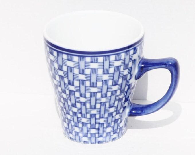 Blue Mug, Mountain Mug, Mount Everest Tea, Tea Mug, Blue Cup, Ceramic Travel Mug, Mount Mug