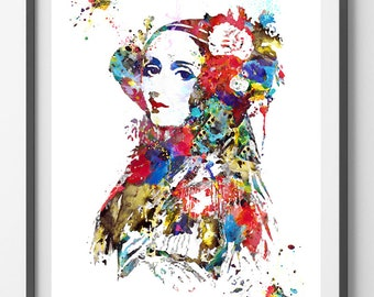 Machine Translation Its Scope and Limits Ada Lovelace watercolor Print