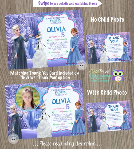 Olafs Frozen Adventure Invitation Disney Olaf Birthday