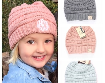Monogram Child sized CC Beanies 936450d8f4ed
