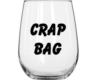 Crap Bag - Friends TV Show - 1 Glass