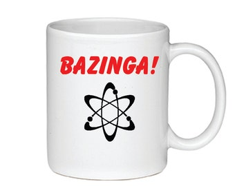 Bazinga! - Printed On Both Sides - Big Bang Theory Coffee Mug - 078