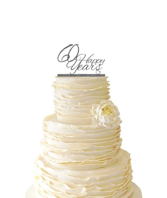 Glitzer 60 Gluckliche Jahre Hochzeit Jubilaum 60 Jahre Etsy