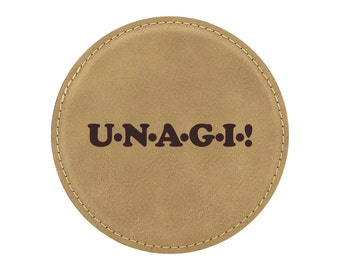 Unagi! - Drink Coaster - Friends TV Show Theme - 1 Coaster - Item 04