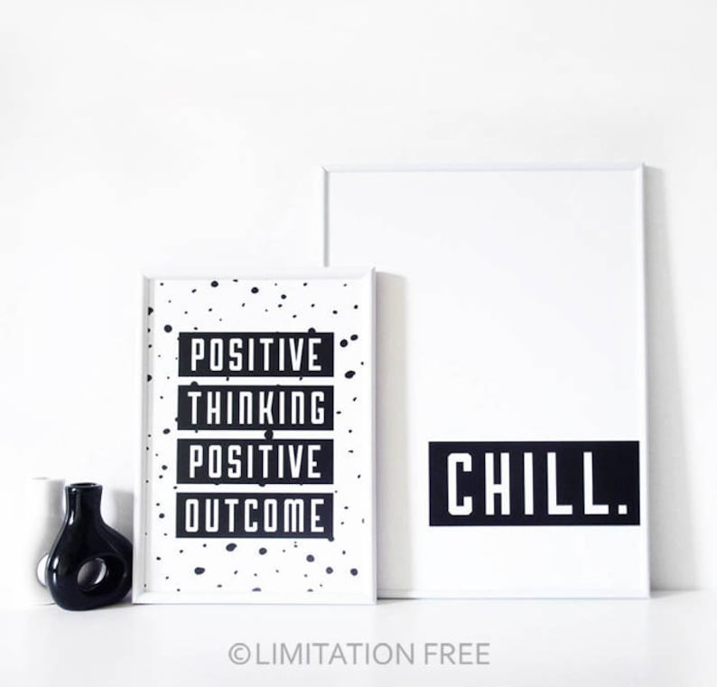 Typography Motivational Quote Print Inspirational Quote Printable Digital Wall Art Black And White Print Instant Download Printable Art