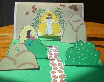 Printable Easter Resurrection Project